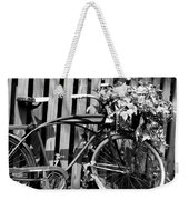 Vintage Bicycle  Weekender Tote Bag