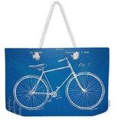 Vintage Bicycle Patent Artwork 1894 Weekender Tote Bag by Nikki Marie Smith