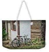 Vintage Bicycles The Journey Weekender Tote Bag