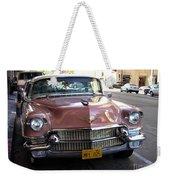 Vintage Cadillac. Luxury From The Past Weekender Tote Bag