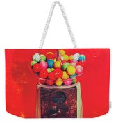 Vintage Candy Store Gum Ball Machine Weekender Tote Bag