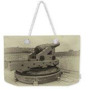 Vintage Cannon At Fort Moultrie Weekender Tote Bag