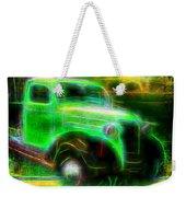 Vintage Car 4 Neons Edition Weekender Tote Bag
