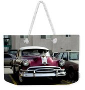 Vintage Car From 1940's Era Weekender Tote Bag