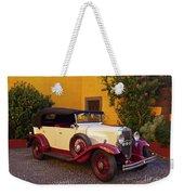 Vintage Car In Funchal, Madeira Weekender Tote Bag