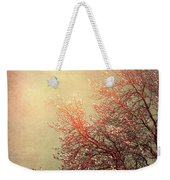 Vintage Cherry Blossom Weekender Tote Bag