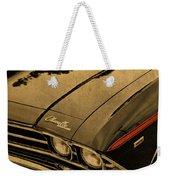 Vintage Chevrolet Chevelle Hood Weekender Tote Bag