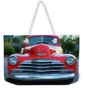 Vintage Chevy Pickup Truck Weekender Tote Bag