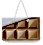 Vintage Chocolate Block Macro Weekender Tote Bag