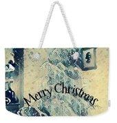 Vintage Christmas Weekender Tote Bag