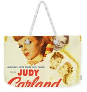 Vintage Classic Movie Posters, Meet Me In St. Louis Weekender Tote Bag