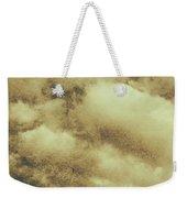 Vintage Cloudy Sky. Old Day Background Weekender Tote Bag