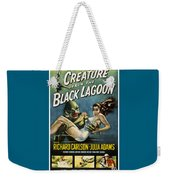 Vintage Creature From The Black Lagoon Poster Weekender Tote Bag