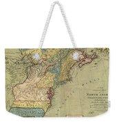 Vintage Discovery Map Of The Americas - 1771 Weekender Tote Bag