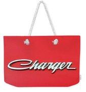 Vintage Dodge Charger Logo Weekender Tote Bag