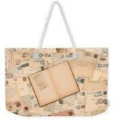Vintage Weekender Tote Bag