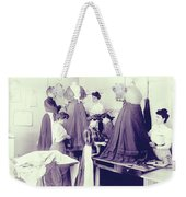 Vintage Dressmakers Weekender Tote Bag