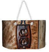 Vintage Electrical Outlet Weekender Tote Bag