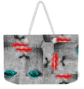 Vintage Faces Weekender Tote Bag
