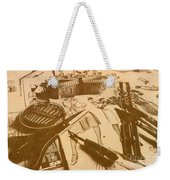 Vintage Fashion Design Weekender Tote Bag