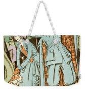 Vintage Fashion Plate Twenties Sporting Outfits Weekender Tote Bag