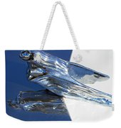 Vintage Flying Lady Hood Ornament Weekender Tote Bag