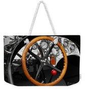 Vintage Ford Racer Dashboard Weekender Tote Bag