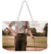 Vintage Golf Weekender Tote Bag