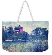 Vintage Great Lakes Lighthouse Weekender Tote Bag