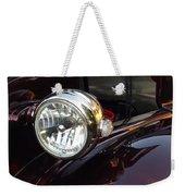 Vintage Headlight Weekender Tote Bag