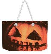 Vintage Horror Pumpkin Head Weekender Tote Bag