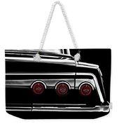 Vintage Impala Black And White Weekender Tote Bag