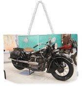 Vintage Indian Black Weekender Tote Bag