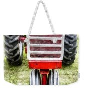 Vintage International Harvester Tractor Weekender Tote Bag