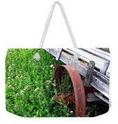 Vintage Irrigation Wagon Weekender Tote Bag