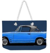 Vintage Italian Automobile Tee Weekender Tote Bag