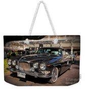 Vintage Jaguar Weekender Tote Bag