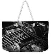 Vintage Jaguar Engine Weekender Tote Bag