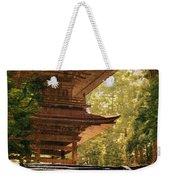 Vintage Japanese Art 16 Weekender Tote Bag