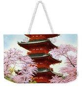 Vintage Japanese Art 21 Weekender Tote Bag