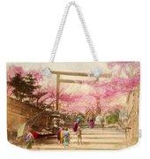 Vintage Japanese Art 25 Weekender Tote Bag