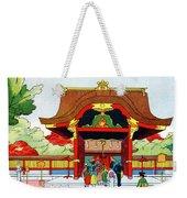 Vintage Japanese Art 5 Weekender Tote Bag