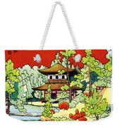 Vintage Japanese Art 7 Weekender Tote Bag