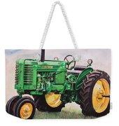 Vintage John Deere Tractor Weekender Tote Bag