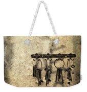 Vintage Keys Weekender Tote Bag