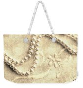 Vintage Lace And Pearls Weekender Tote Bag