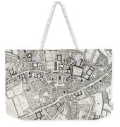 Vintage Map Of Cambridge England - 1690 Weekender Tote Bag