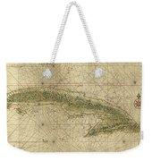 Vintage Map Of Cuba - 1639 Weekender Tote Bag