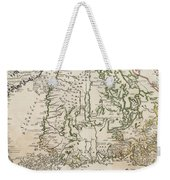 Vintage Map Of Finland - 1740s Weekender Tote Bag