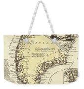 Vintage Map Of Greenland - 1791 Weekender Tote Bag